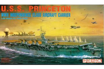 Корабль U.S.S. Princeton WWII Independence class Aircraft carrier (1/700)