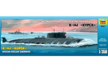Подводная лодка К-141 'Курск' ракетный крейсер (1/350)