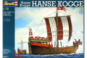Корабль Hanse Kogge (1/72)