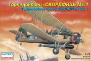 Самолет Торпедоносец 'Свордфиш' MK.I (1/72)