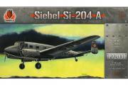 Самолет Siebel Si-204 A (1/72)