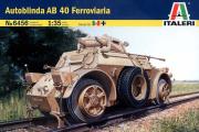 Autoblinda AB-40 Ferroviaria (1/35)