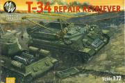 T-34 ремонтно-эвакуационный тягач (1/72)