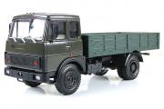 МАЗ-53371 бортовой ранний 1987, хаки/зеленый (1/43)