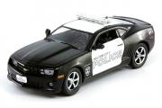 Chevrolet Camaro SS Haltom полиция штата Техас, черный/белый (1/43)
