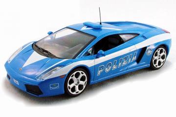 Lamborghini Gallardo полиция Италии, синий/белый (1/43)