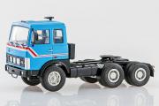 МАЗ-6422 седельный тягач ранний 1978, голубой (1/43)