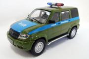 УАЗ-3163 'Патриот' Военная автоинспекция, хаки (Ручная доработка) (1/43)