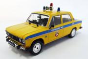 ВАЗ-2106 'Жигули' Милиция СССР, желтый/синий (Ручная доработка) (1/43)