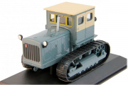 Трактор Сталинец-80 гусеничный, серый/бежевый (1/43)
