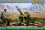 ЗУ-23-2 зенитная установка. Афганистан (1/48)