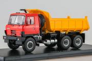 Tatra-815S1 самосвал, красный/желтый (1/43)