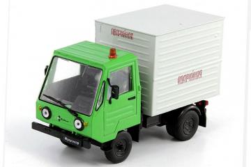 IFA Multicar 25 фургон 'Аварийная', зеленый/серый (1/43)