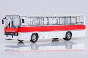 Автобус Икарус-260 городской, белый/красный (1/43)