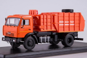 КАМАЗ-43253 мусоровоз МКМ-4503, оранжевый (1/43)