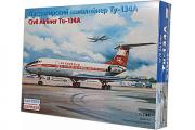 Самолет Ту-134А (1/144)