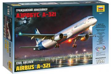 Самолет А-321 Аэробус (1/144)