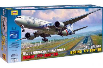 Самолет Боинг 777-300 ER (1/144)