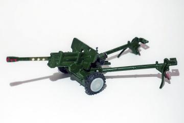 Пушка ЗИС-3-76 (сделано в СССР). В пластиковом пакете (1/43)