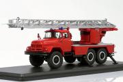 АЛ-30 (131) пожарный лестница, красный (1/43)