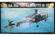 Вертолет SA 316/319 Alouette III (1/72)