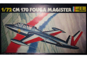 Самолет C M 170 Fouga Magister (1/72)