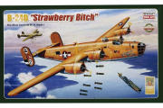 Самолет B-24D 'Strawberry Bitch' бомбардировщик (1/72)
