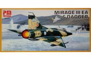 Самолет Mirage III EA & Dagger (1/72)