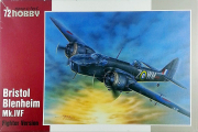 Самолет Bristol Blenheim Mk.IVF Fighter Version (1/72)
