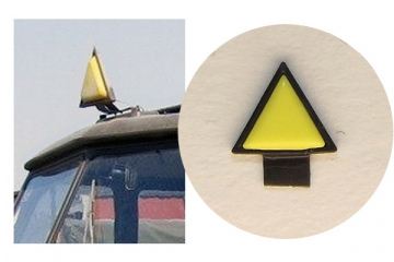 Знак 'Автопоезд' желтый 1 шт. (1/43)