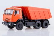 КАМАЗ-65115 самосвал, оранжевый (1/43)