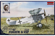 Самолет Fokker D.VIIF late (WWI) (1/72)