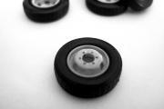 Покрышка + диск ГАЗель колесо запасное 1 шт., серый (1/43)