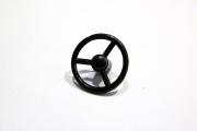 Рулевое колесо УАЗ-469, черный 1 шт. (1/43)