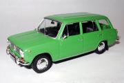 ВАЗ-2102, зеленый (Польская серия) (1/43)