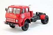 МАЗ-508В седельный тягач 4х4 1970, красный (1/43)