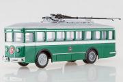 Троллейбус ЛК-2, зеленый/серый (1/43)