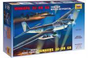 Самолет немецкий Юнкерс JU-88 G6 (1/72)