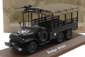 Dodge WC63 1 1/2 ton 6x6 бортовой 1944, хаки (1/43)