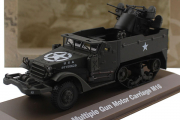 Multiple Gun Motor Carriage M16, хаки (1/43)