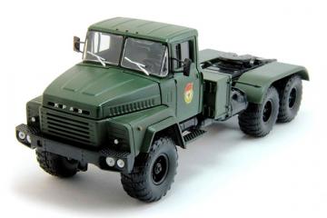 КрАЗ-260В седельный тягач 1980, хаки (1/43)