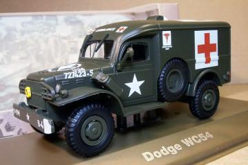 Dodge WC54 Military Ambulance 1945, хаки (1/43)