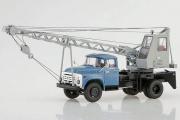 Автокран АК-75В (130), синий/серый (1/43)