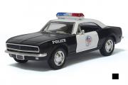 Chevrolet Camaro Z/28 Police 1967, черный/белый (1/37)