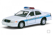 Ford Crown Victoria Police Interceptor, белый (1/42)