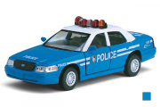 Ford Crown Victoria Police Interceptor, синий (1/42)