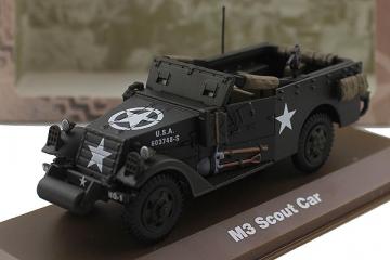 M3 Scout Car - 1944, хаки (1/43)