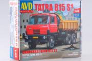 Сборная модель Tatra-815S1 самосвал (1/43)