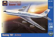 Самолет Боинг 707 'Pan American' (1/144)