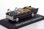Simca Chambord V8 Ab-P President Kennedy 1961, черный (1/43)